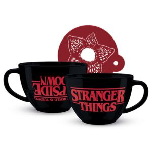 Šalice Stranger Things - The World is Turning Upside Down