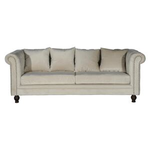 Chesterfield sofa JA318, Boja: Krema