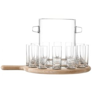 SET PADDLE VODKA SERVING NA PODLOŠKU LSA