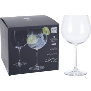 ČAŠE GIN TONIC 620ML SET4/1 KOOP