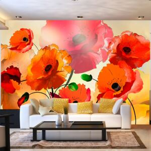 Foto tapeta - Velvet Poppies