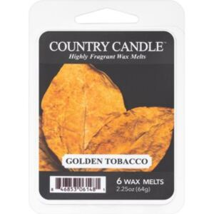 Country Candle Golden Tobacco vosak za aroma lampu 64 g