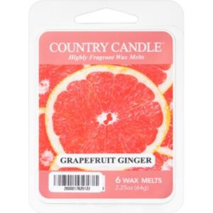 Country Candle Grapefruit Ginger vosak za aroma lampu 64 g