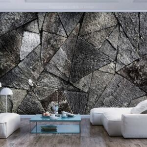 Foto tapeta - Pavement Tiles (Grey)